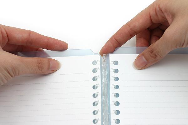 supply love kokuyo campus smart ring notebooks gingerblue dot com