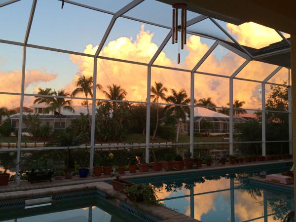 sunrise in November