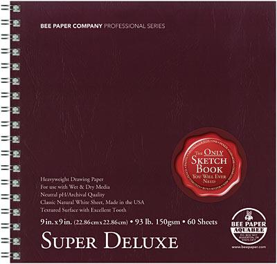 aquabee super deluxe sketchbook