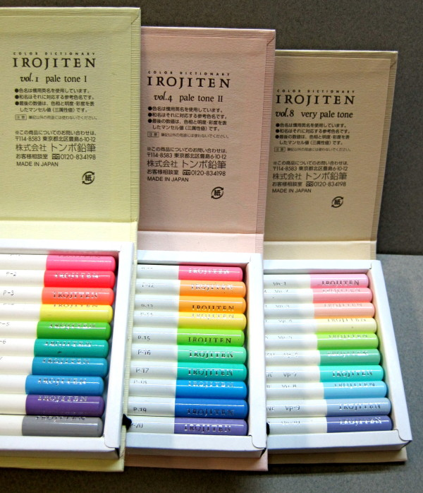 Tombow Irojiten Color Pencils