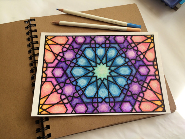 coloring with Irojiten color pencils – June, 2015 – gingerblue dot com