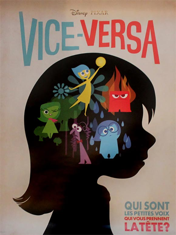 "french poster for ""Inside Out"""