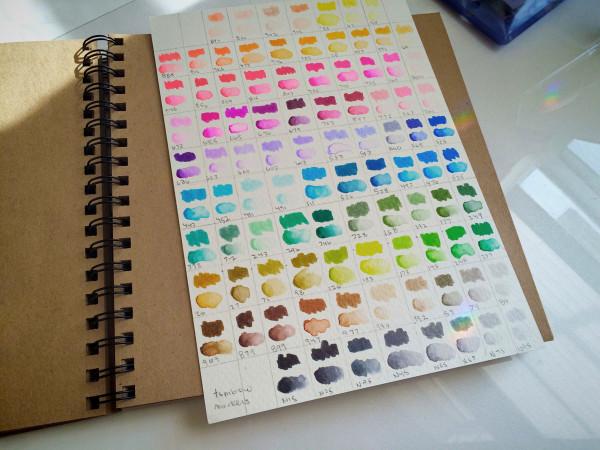 Tombow Marker Palette