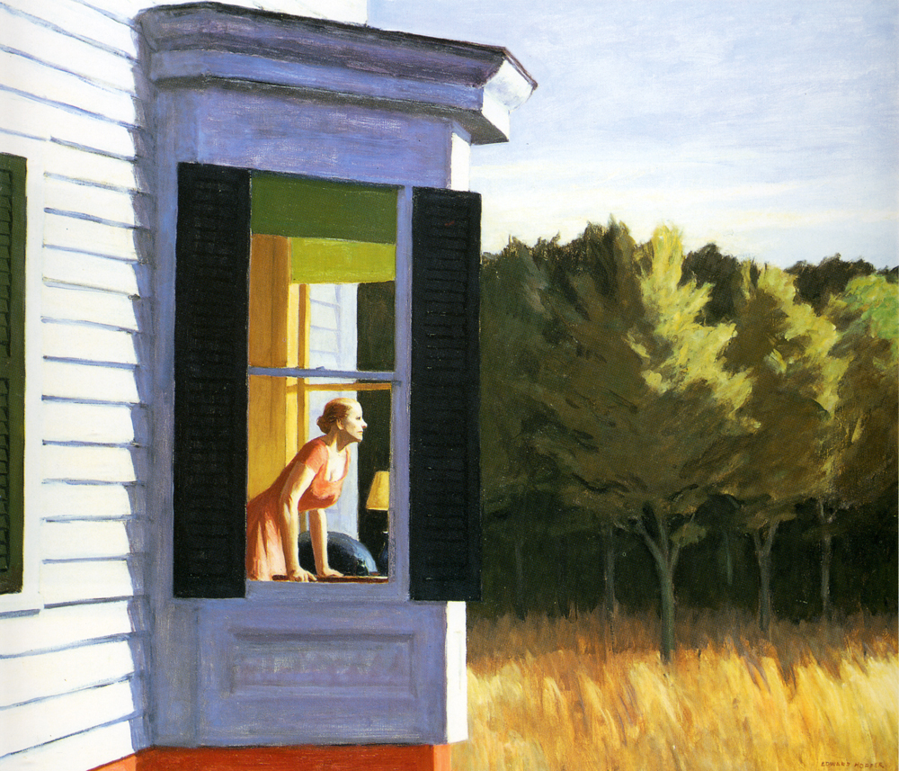 "Edward Hopper ""Cape Cod Morning"""