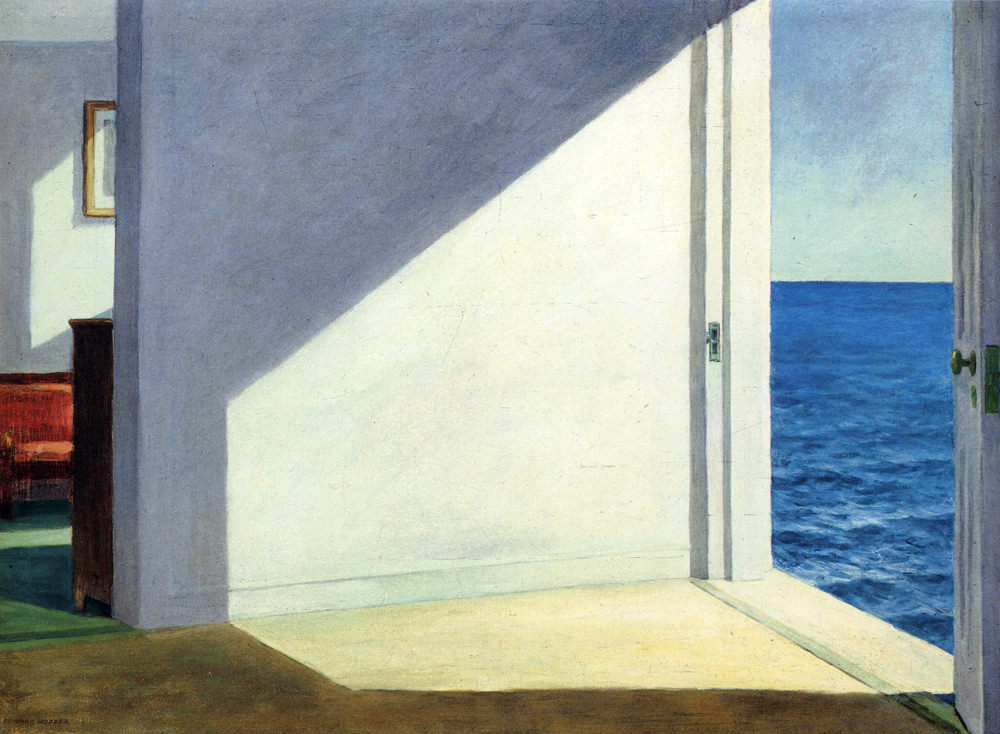 """Rooms By the Sea"" - Edward Hopper - 1951"