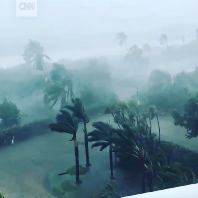 Hurricane Irma - image from CNN